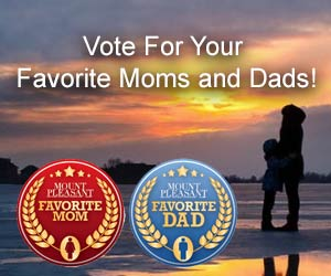 Nominate a great Mom or Dad as one of the favorite in Mount Pleasant,  Daniel Island, Isle Of Palms, Sullivan's Island, Awendaw and McClellanville.